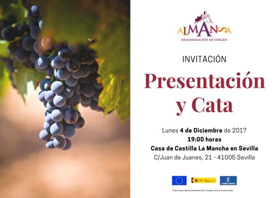 Invitacion Evento Sevilla DO Almansa